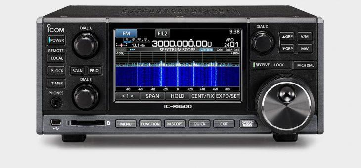 DCRも聞けるデスクトップ型受信機 ICOM IC-R8600発売!